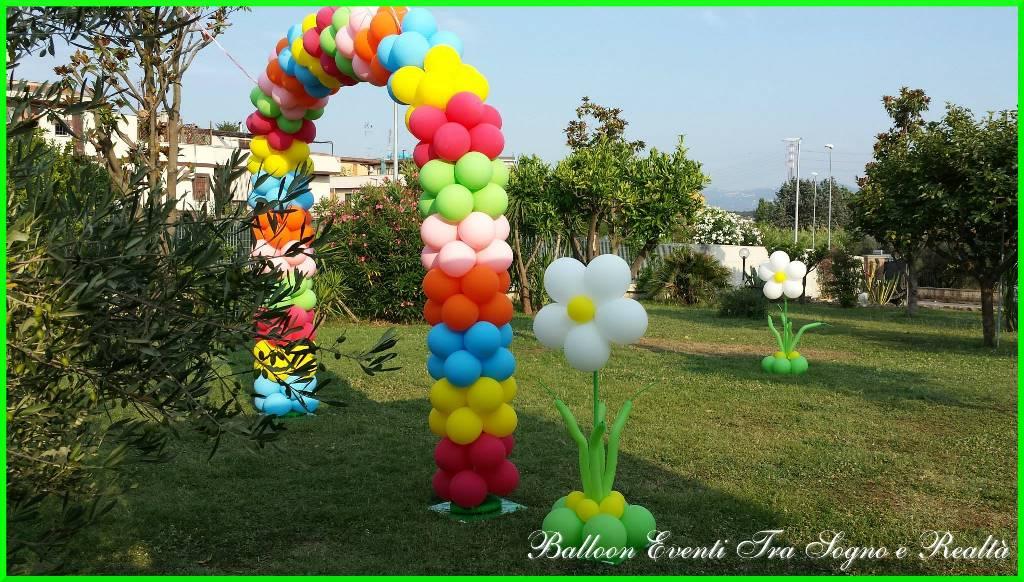allestimenti con palloncini roma